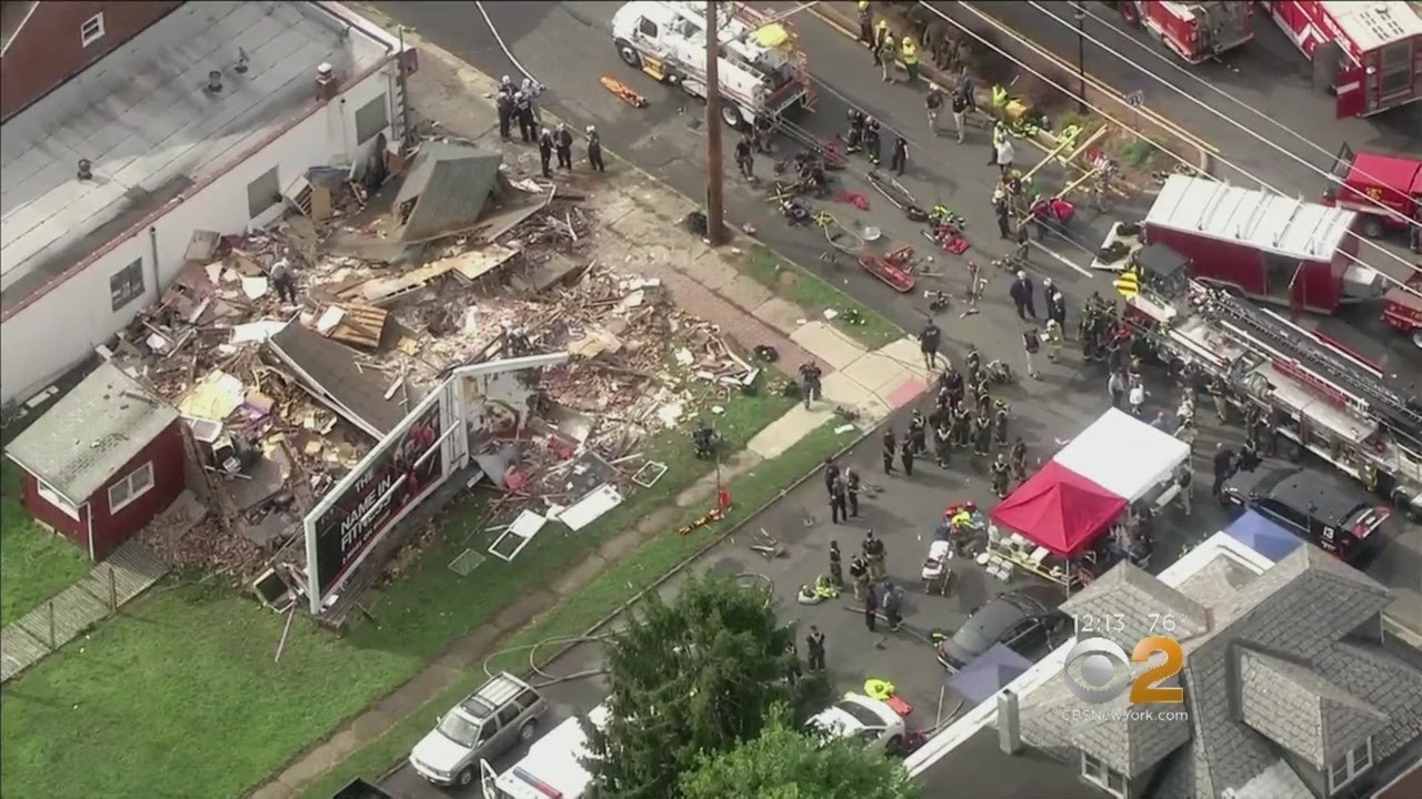 3 Hurt In Hamilton Township House Collapse