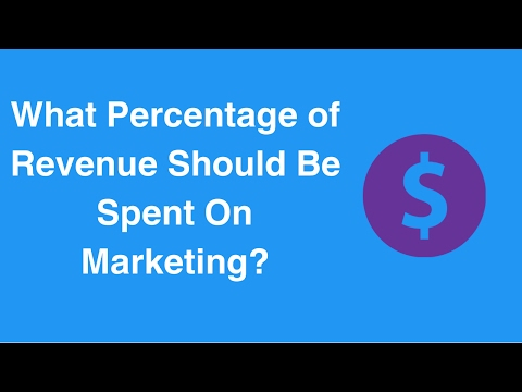 What Percentage of Revenue Should Be Spent On Marketing?