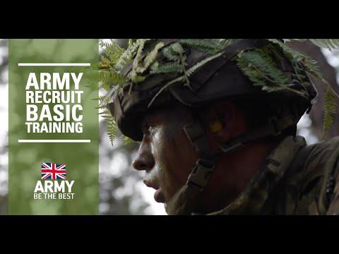 Recruit Training | British Army