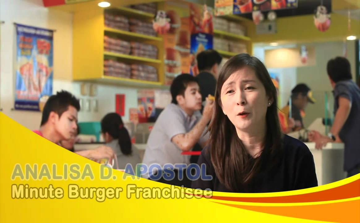minute burger franchise cost