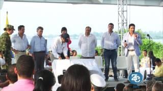 """Ahora sí, el puente se llamará """"Puente Pumarejo Presidente Santos"""