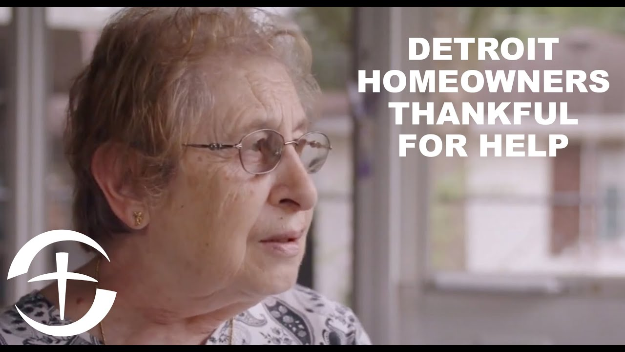 Detroit Homeowners Thankful for Help
