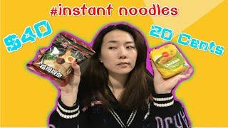 $40 Instant Noodles Vs. $0.2 Instant Noodles