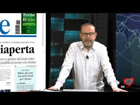 I giornali in edicola - la rassegna stampa 29/01/2021