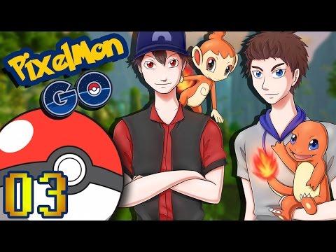 PIXELMON GO #03 : PREMIÈRES CAPTURES !