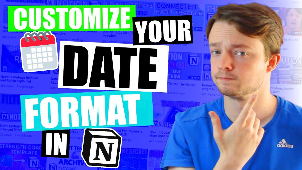 Notion Date Formulas to get the date display YOU want.