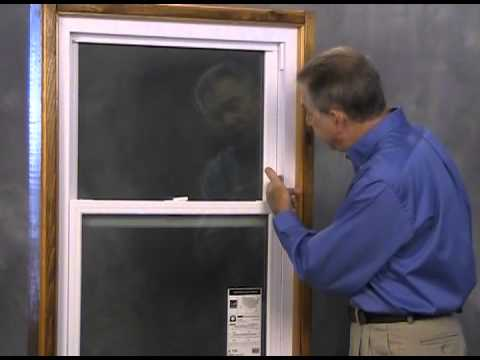 Double Hung Windows - Parts and Anatomy Overview