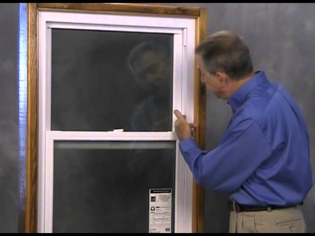 Double Hung Windows Parts And Anatomy Overview Youtube