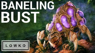 StarCraft 2: THE BANELING BUST! (Bo5)