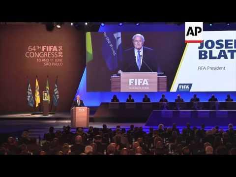 Sepp Blatter said FIFA should ensure the integrity of football