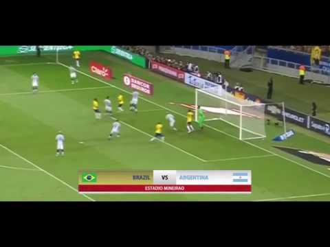 ไฮไลท์บราซิล 3-0 อาเจนตินา บอลโลกรอบคัดเลือก อเมริกาใต้ 11-11-2016