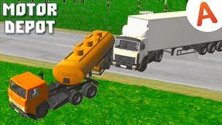 Разбил Новый Камаз - Motor Depot (мобильные игры)