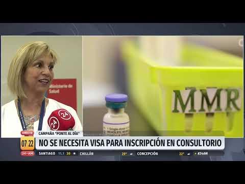 Ministerio de Salud inicia campa�a para poner al d�a a los ni�os con las vacunas