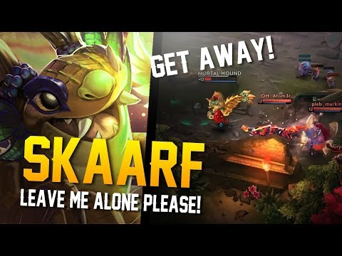 Vainglory - Road to Vainglorious [Gold]: LEAVE ME ALONE! Skaarf  CP  Jungle Gameplay