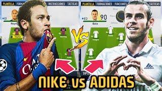 NIKE vs ADIDAS TEAM ... Quien Gana? - FIFA 17 Modo Carrera