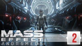 Mass Effect  Andromeda Прохождение (2)   РЕЛИЗ НА ПК, УЛЬТРА ГРАФИКА (МАСС ЭФФЕКТ АНДРОМЕДА СТРИМ)