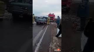 Авария на трассе недалеко от Красноярска («Я живу в Красноярске»)