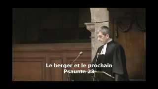Le berger et le prochain  ( Psaume 23 ; Luc 10:25-29 )