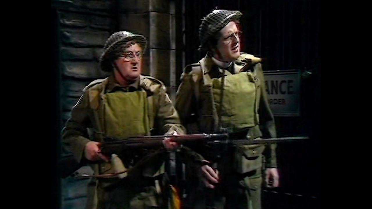 Dad's Army - The Recruit - NL ondertiteld - ... Adolf who ...