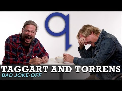 Taggart And Torrens can't stop laughing!