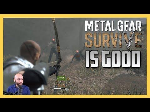 Metal Gear Survive IS GOOD
