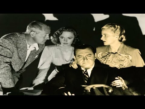 EYES IN THE NIGHT  Ann Harding  Edward Arnold   Full Length Crime Movie  English  HD  720p