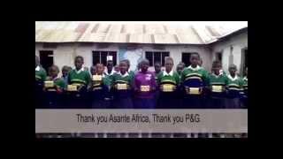 Tanzanian Girls share their new knowledge - Handwashing and Hygiene