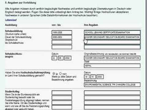 Filling Up Application Form 2 Youtube