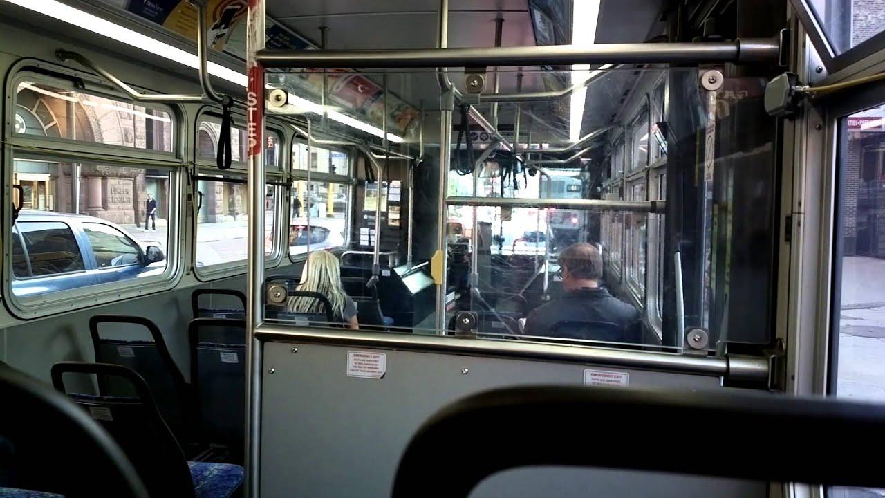 Metrotransit Bus Route 6 Downtown Minneapolis Youtube