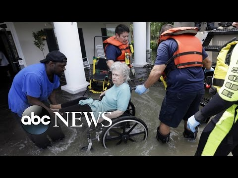 Houston, Texas, Overwhelmed With Historic Flooding