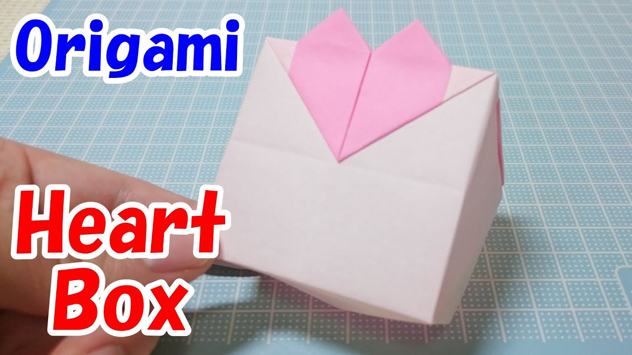 Origami Heart Box Easy Tutorial You