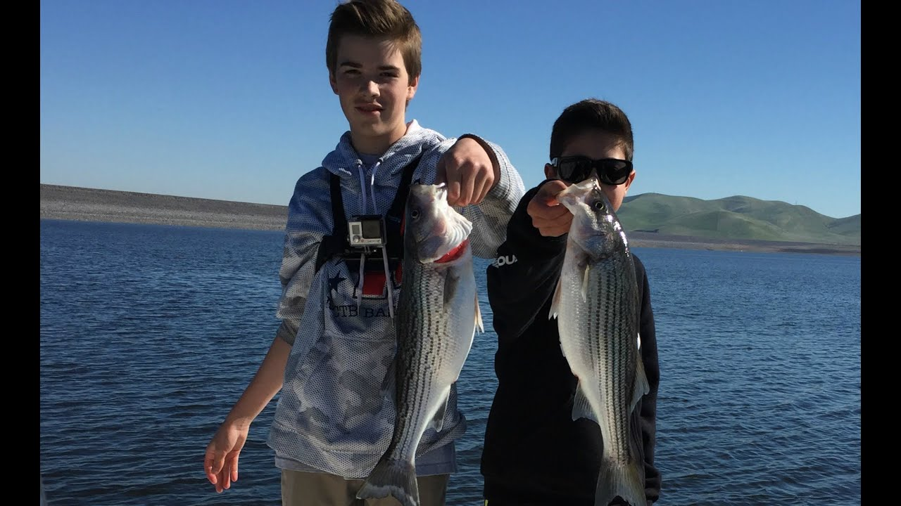 Striper fishing san luis reservoir youtube for San luis reservoir fishing