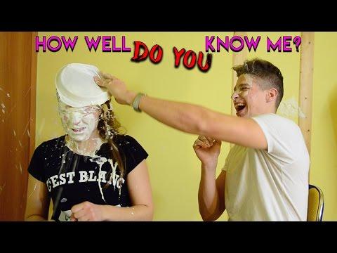 Kaip Gerai Mane Pažįsti? | CHALLENGE SU SESE