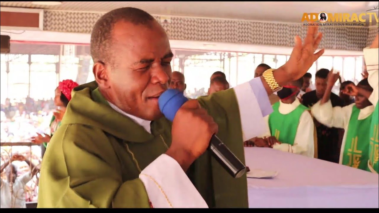 Download Rev Fr, Ejike Mbaka - You Will Never Be Put To Shame, In The Name Of Jesus Christ