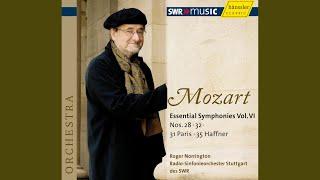 """Symphony No. 35 in D Major, K. 385 """"Haffner"""": II. Andante"""