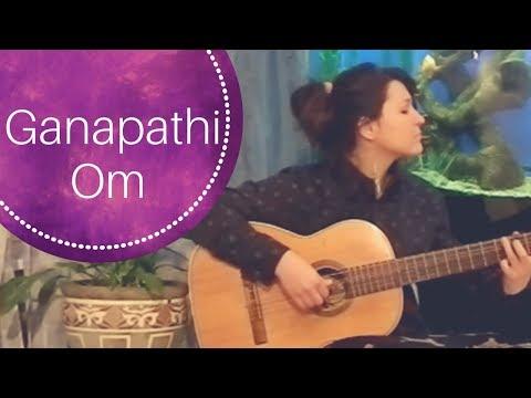 Ganapathi Om Jaya Ganapathi   Art of Living Bhajan   Relax Mantra Chords and Lyrics