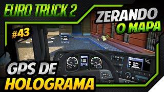 Euro Truck Simulator 2 - Mod GPS Holograma - Viagem no Mapa Europeu