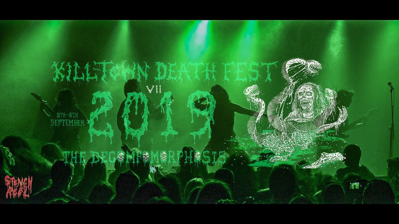 Guitar Showcases : Chthe'ilist unveils pro-shot footage from KTDF courtesy of Stench Reel