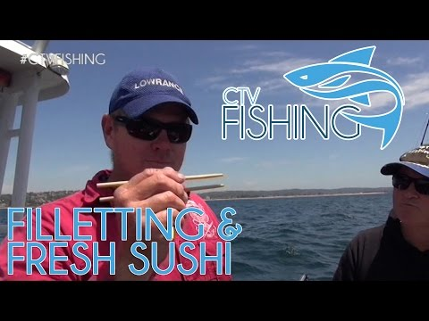 How To Fillet A Fish & Get Great Fresh Sushi