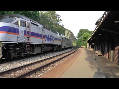 Thumbnail: Harper's Ferry, West Virginia Trains