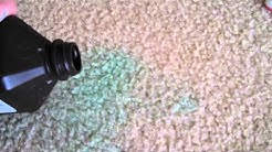 Set in Stain on Carpet, how to get rid of it