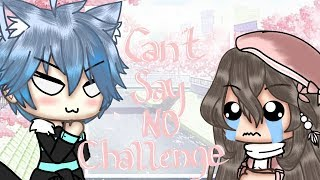 • Can't Say No Challenge • // Gacha Life \ ~ Mini Movie ~ { Special 20k+ }