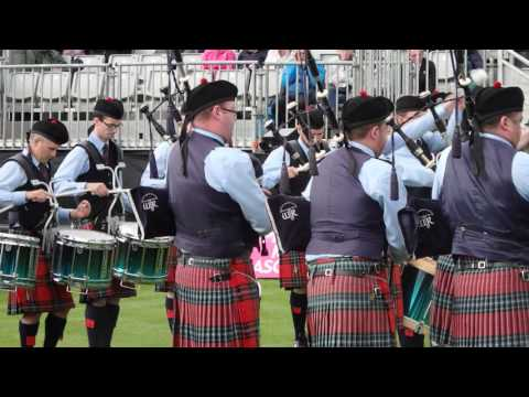 Field Marshal Montgomery Pipe Band - World Champions 2016 - Medley