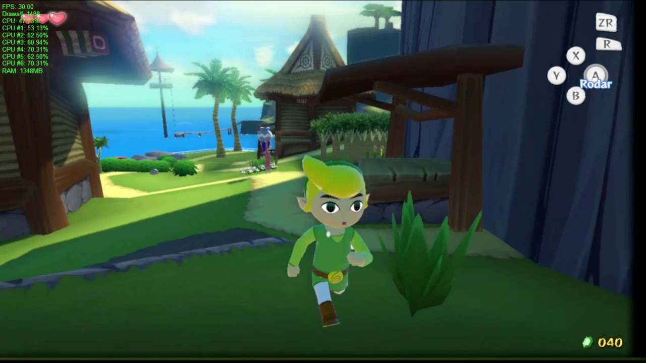 The Legend Of Zelda: Wind Waker is now playable on