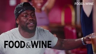 Watch Kevin Hart Attempt Beer Yoga with Chance the Rapper | Food & Wine