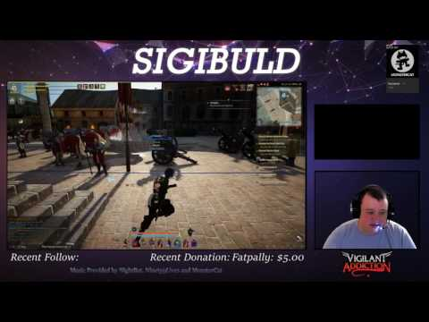 SigiPlays: Games with Sigibuld (First segment from Twitch.TV broadcast 7/22/2017)