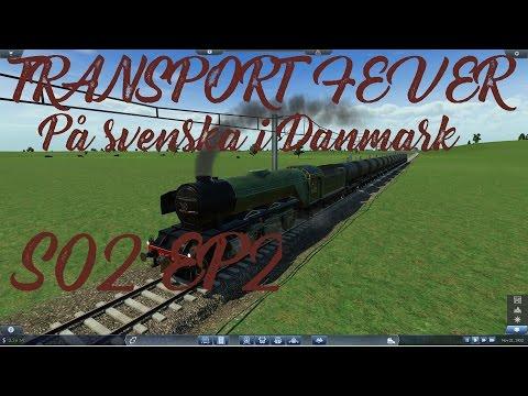 Transport Fever Gameplay på svenska #2 - Svensken i Danmark - Den nya början