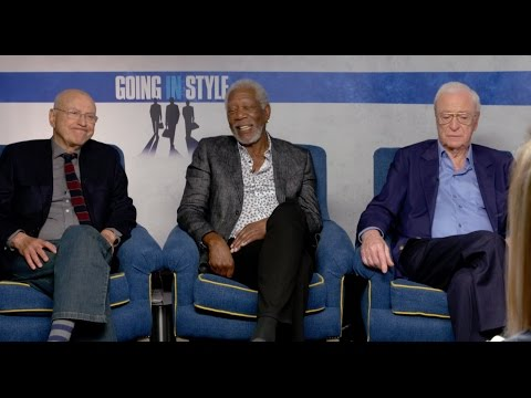 INTERVIEW -  Morgan Freeman, Michael Caine & Alan Arkin are Going in Style