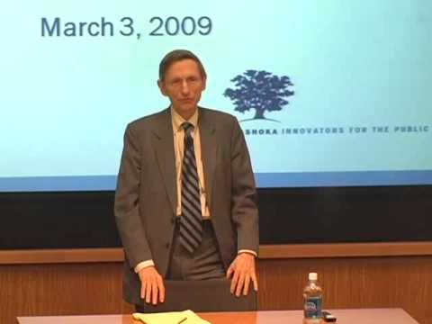 Gleitsman Lecture Series: William Drayton on YouTube