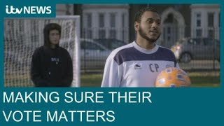 'I want my vote to matter': The young men making their voices heard at this election | ITV News